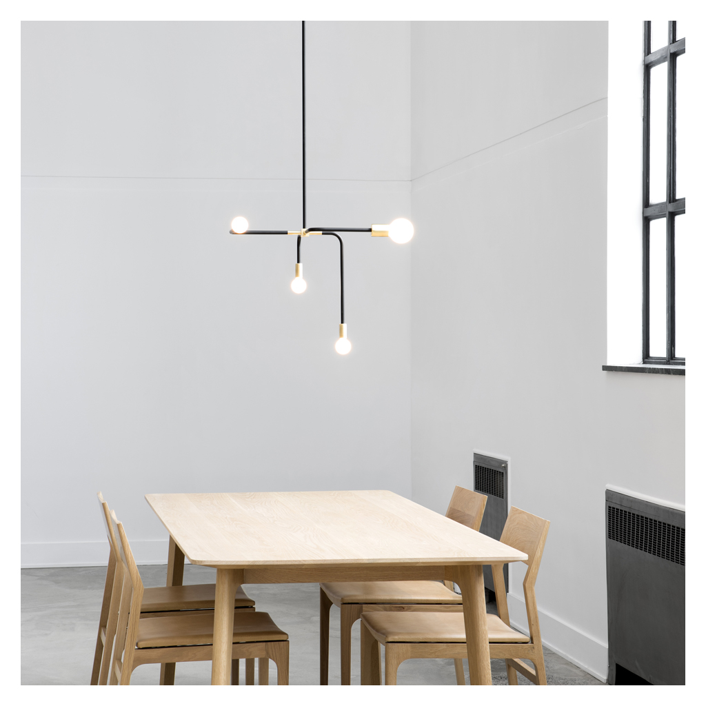 Ceiling pendant lights lighting furniture the conran shop beaubien suspension pendant lamp 4 arms aloadofball