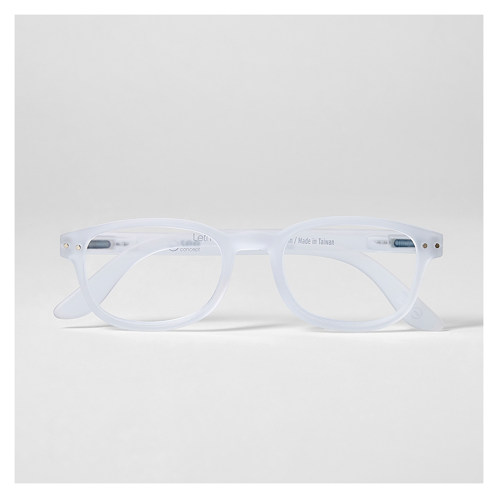 5c924c07d6e LetMeSee  B Reading Glasses White - The Conran Shop