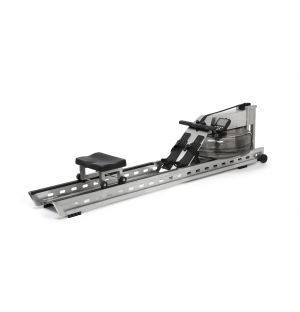 S1 Rowing Machine in Stainless Steel