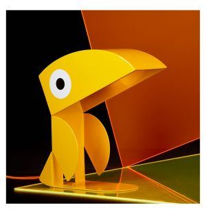 Yellow Toucan Lamp