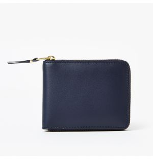 Zip Wallet in Navy