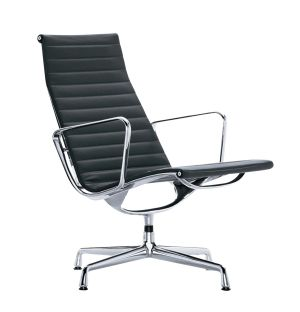 EA116 Swivel Lounge Chair Premium Leather
