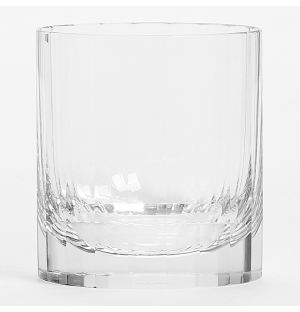 Fluted Double Old Fashioned Tumbler