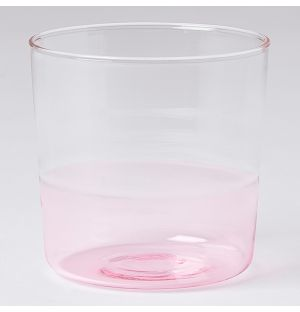 Light Water Tumbler Pink & Clear