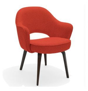 Saarinen Conference Armchair Walnut & Cato Fabric