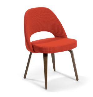 Saarinen Conference Chair Walnut & Cato Fabric