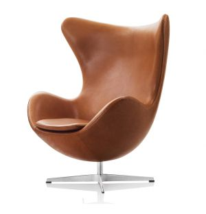 Egg Chair in Grace Leather