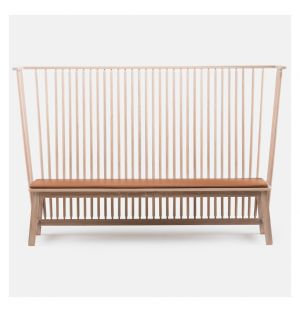 Settle Bench White Oak