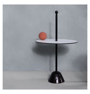 Servomuto Serving Side Table White Top