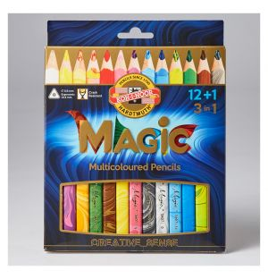 Magic Colouring Pencils Set of 13
