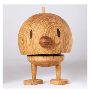 Woody Bumble Figurine Oak