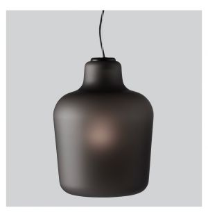 Say My Name Pendant Light Smoked Grey Matte