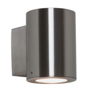 Detroit Exterior Wall Light Single Steel