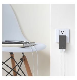Smart Charger Dual in Slate