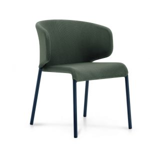DOUBLE 011 Chair in Smoke & Grey