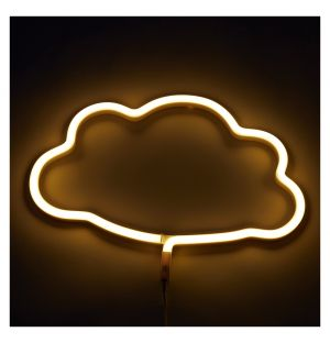 Neon Cloud Light Yellow