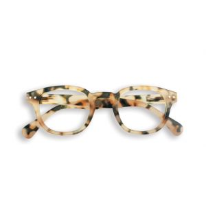 LetMeSee #C Reading Glasses Light Tortoise