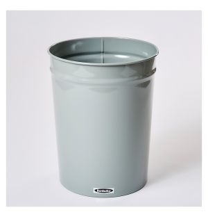 Tapered Waste Basket Small Grey