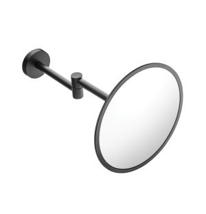 Wall Mounted Magnifying Mirror Black