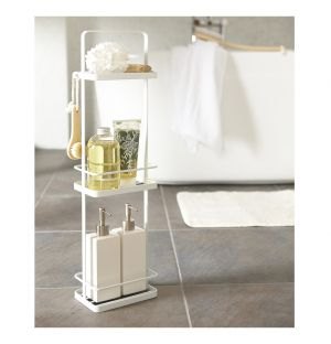 Tower Bath Rack White