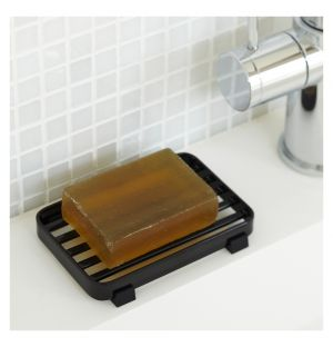Tower Soap Dish Black