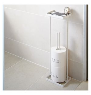 Tower Toilet Paper Stand White