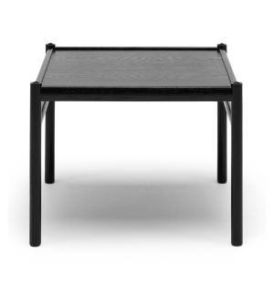 OW449 Colonial Side Table Black Oak