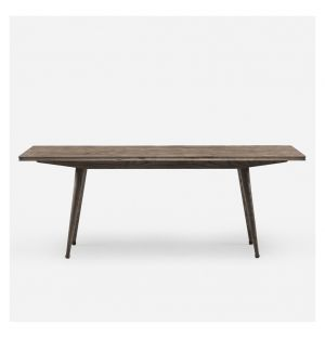 408M Tavli Dining Table in Black Oiled Ash
