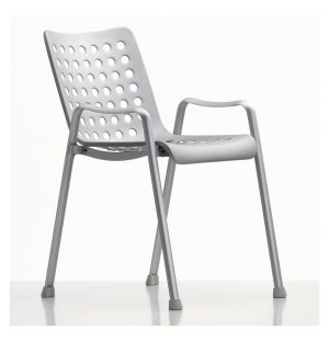 Landi Chair Matte Anodised Aluminium