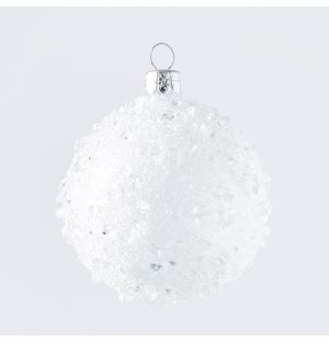 Crushed Ice Bauble