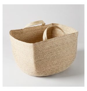 Square Revistero Storage Basket Natural