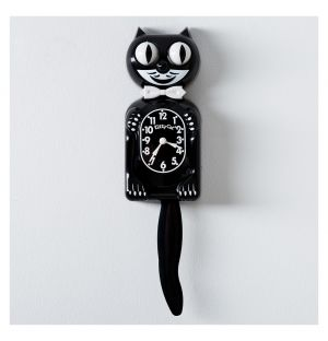 Classic Kit-Cat Klock in Black