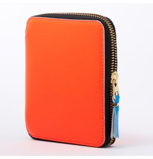 Super Fluo Wallet in Orange