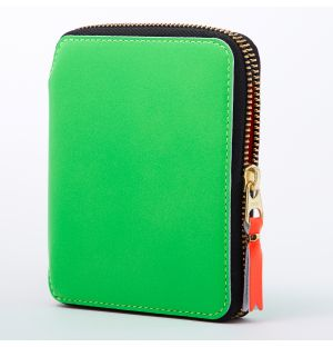 Super Fluo Wallet in Green
