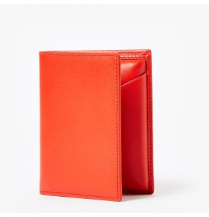 Classic Card Wallet in Orange