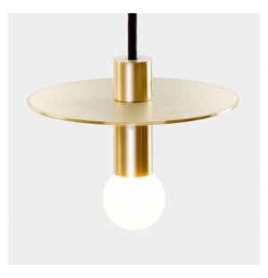 Dot Suspension Pendant Light Brass