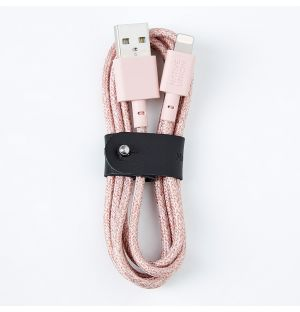 BELT Lightning Cable Rose 1.2m
