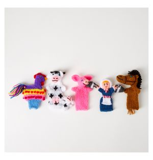 Farm To Go Finger Puppets