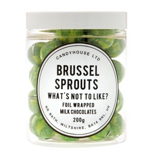 Milk Chocolate Brussel Sprouts