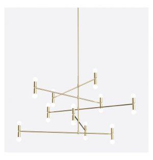 Dot 14 C Pendant Light Brass