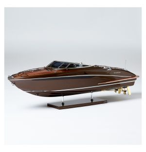 Riva Rivarama Model Boat Brown Hull
