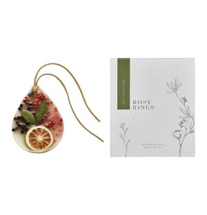 Bay Garland Scented Botanical Wax Sachet