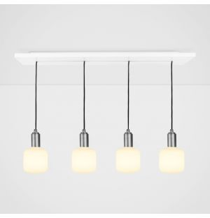 Oblo Pendant Light Set Graphite