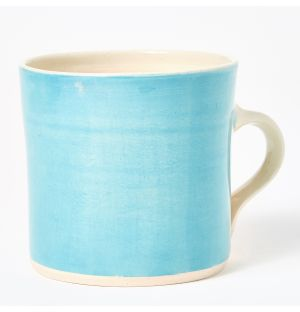 Brights Straight Mug in Turquoise