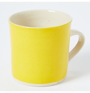 Exclusive Brights Straight Mug in Yellow