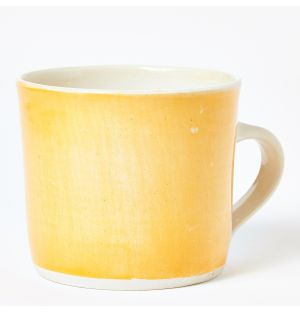 Brights Straight Mug in Orange