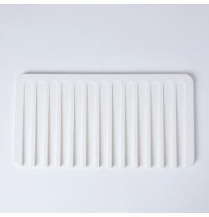 Flow Silicone Drainer White