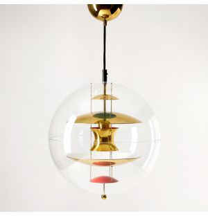 VP Globe Pendant Light Brass