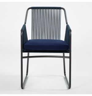 HARP 759 Armchair Smoke & Blue