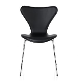 Series 7 3107 Chair Essential Leather Front Black